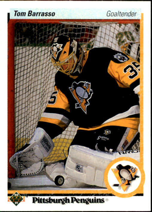 1990-91 Upper Deck #121 Tom Barrasso