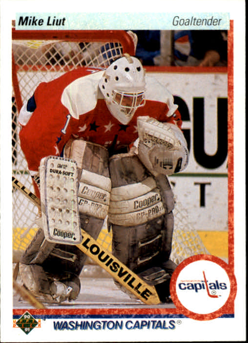 1990-91 Upper Deck #127 Mike Liut