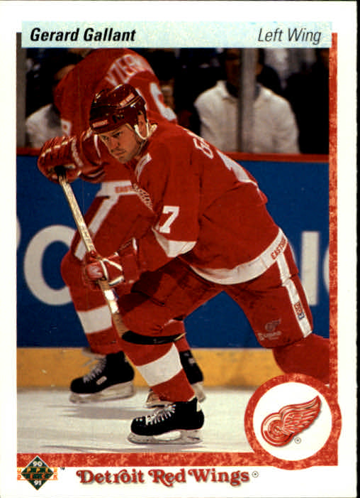 1990-91 Upper Deck #134 Gerard Gallant