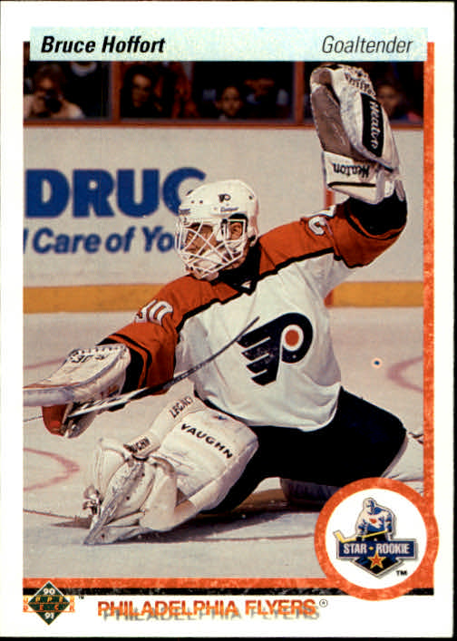 1990-91 Upper Deck #135 Bruce Hoffort RC