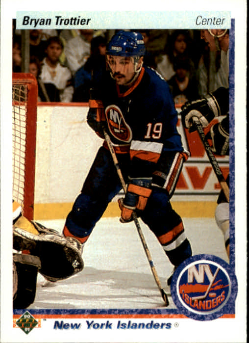 1990-91 Upper Deck #137 Bryan Trottier
