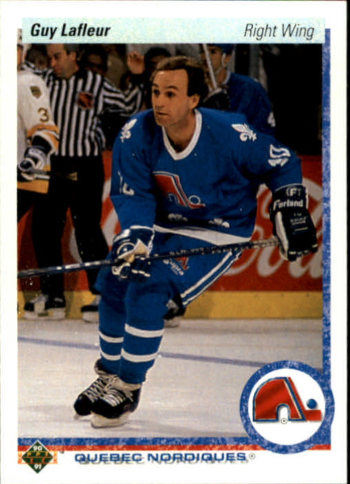 1990-91 Upper Deck #162 Guy Lafleur