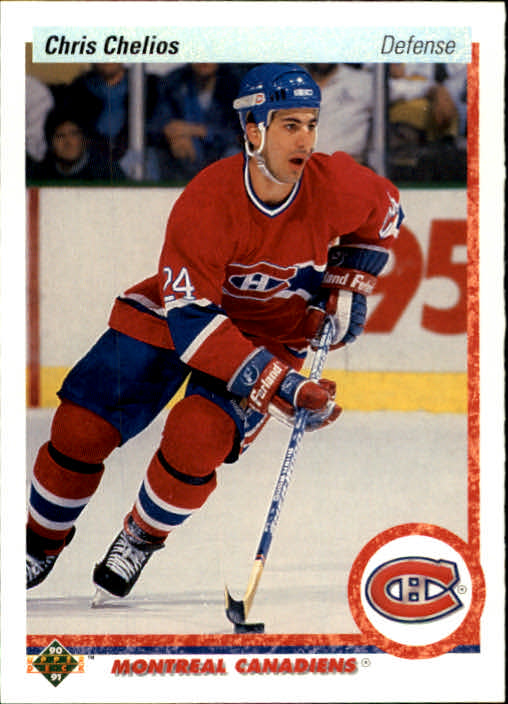 1990-91 Upper Deck #174 Chris Chelios