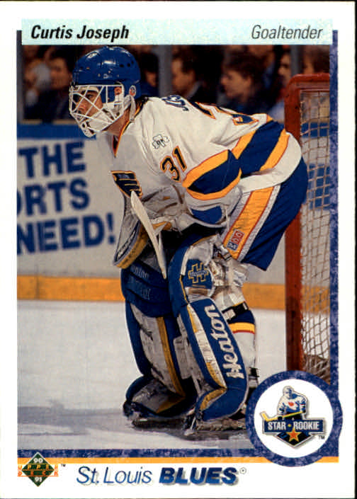 1990-91 Upper Deck #175 Curtis Joseph RC