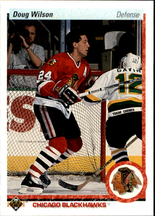 1990-91 Upper Deck #223 Doug Wilson
