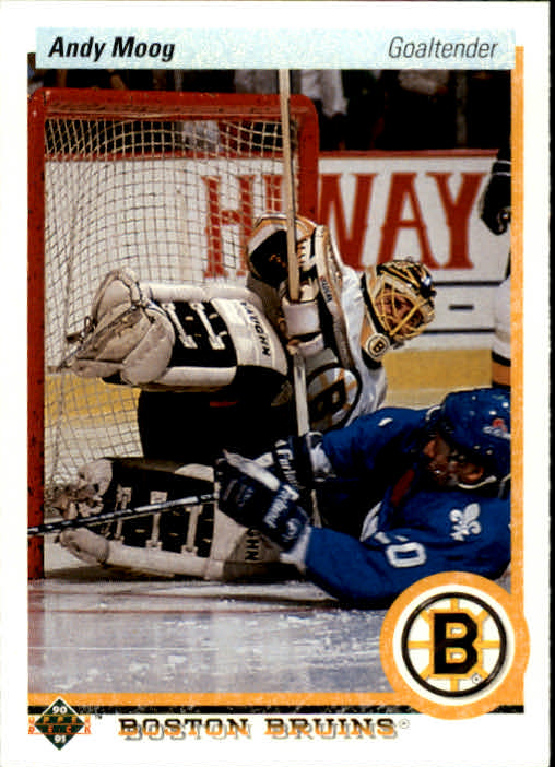 1990-91 Upper Deck #232 Andy Moog