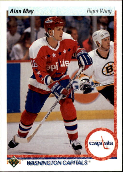 1990-91 Upper Deck #240 Alan May RC