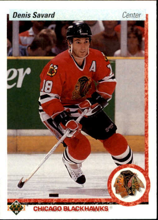 1990-91 Upper Deck #244 Denis Savard