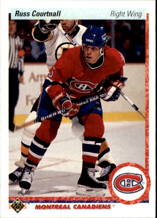 1990-91 Upper Deck #259 Russ Courtnall