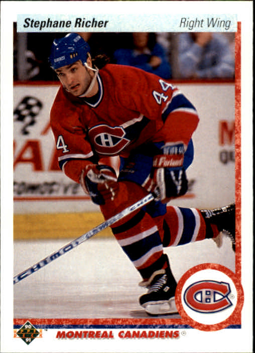 1990-91 Upper Deck #276 Stephane Richer