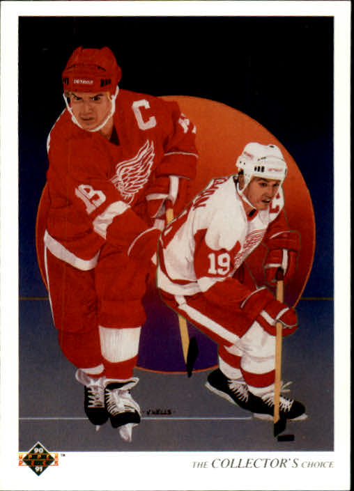 1990-91 Upper Deck #303 Steve Yzerman TC