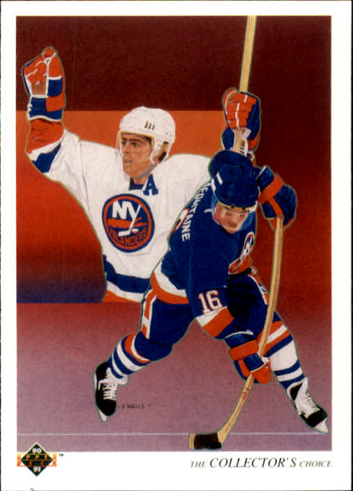 1990-91 Upper Deck #306 Pat LaFontaine TC
