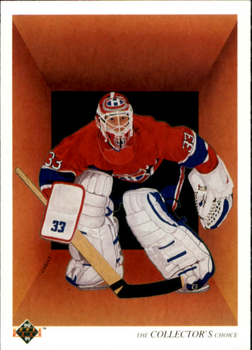 1990-91 Upper Deck #317 Patrick Roy TC