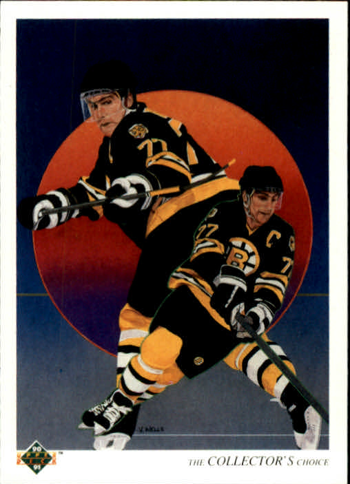 1990-91 Upper Deck #320 Ray Bourque TC