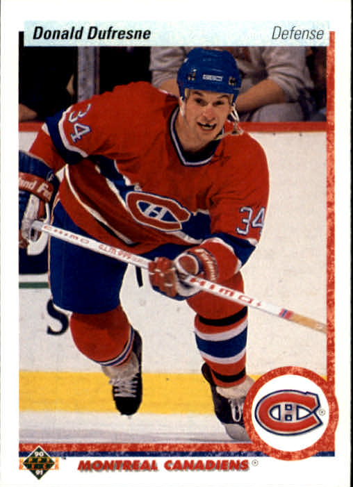 1990-91 Upper Deck #332 Donald Dufresne RC