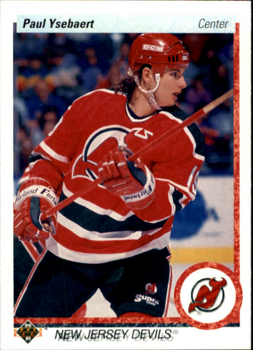 1990-91 Upper Deck #375 Paul Ysebaert RC