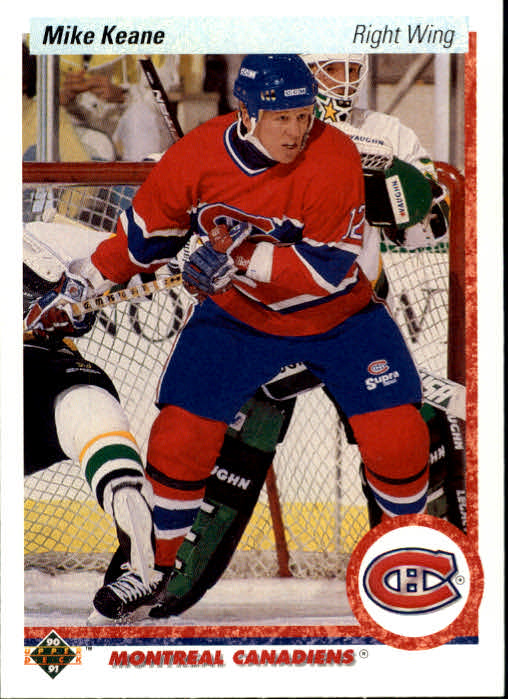 1990-91 Upper Deck #382 Mike Keane RC