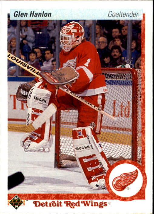 1990-91 Upper Deck #395 Glen Hanlon
