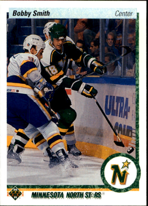 1990-91 Upper Deck #406 Bobby Smith