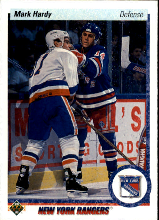 1990-91 Upper Deck #416 Mark Hardy