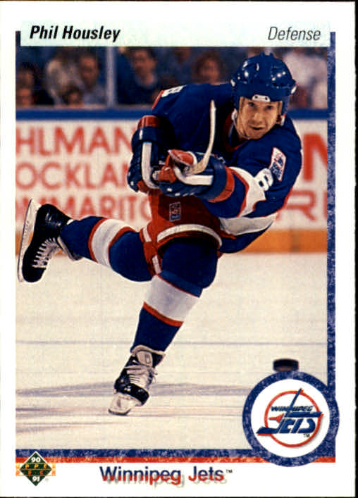 1990-91 Upper Deck #435 Phil Housley