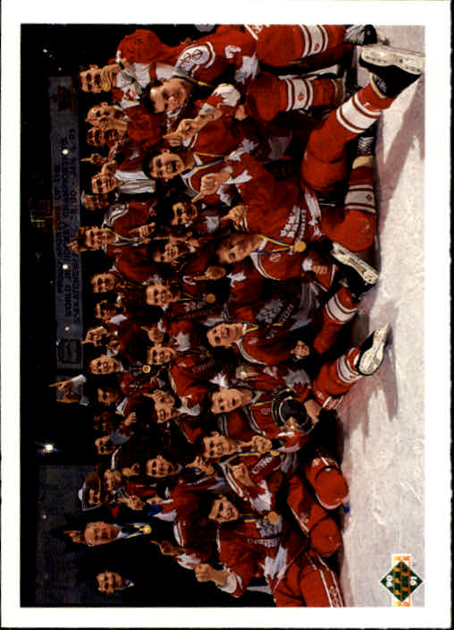 1990-91 Upper Deck #451 Team Canada