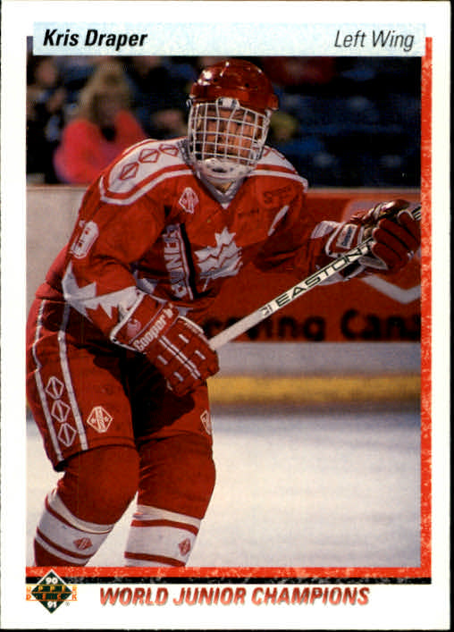 1990-91 Upper Deck #466 Kris Draper RC