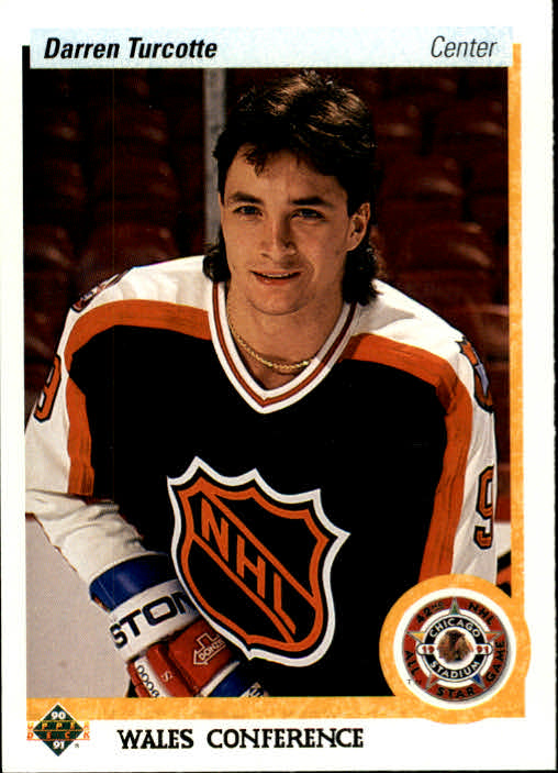 1990-91 Upper Deck #475 Darren Turcotte AS