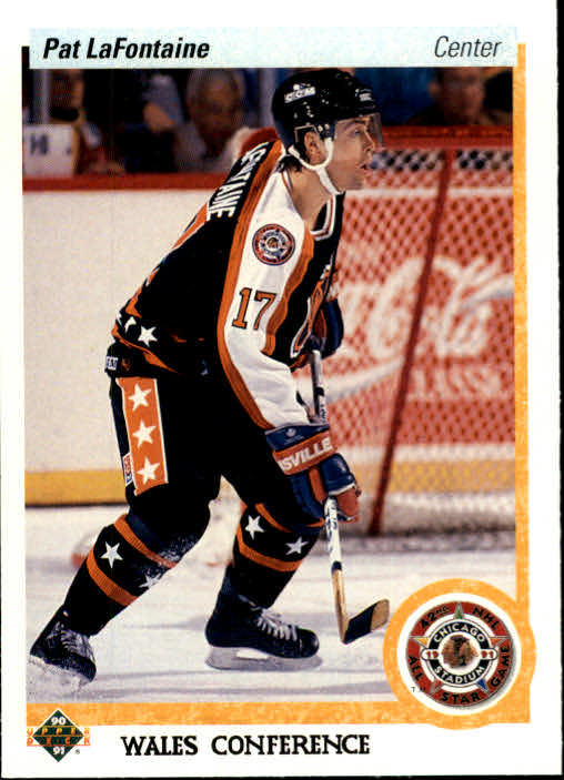 1990-91 Upper Deck #479 Pat LaFontaine AS