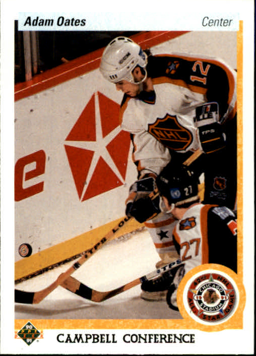 1990-91 Upper Deck #483 Adam Oates AS