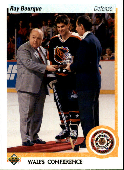 1990-91 Upper Deck #489 Ray Bourque AS