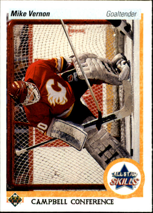 1990-91 Upper Deck #495 Mike Vernon AS