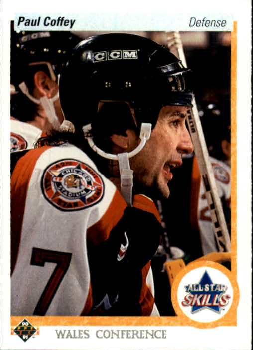 1990-91 Upper Deck #498 Paul Coffey AS
