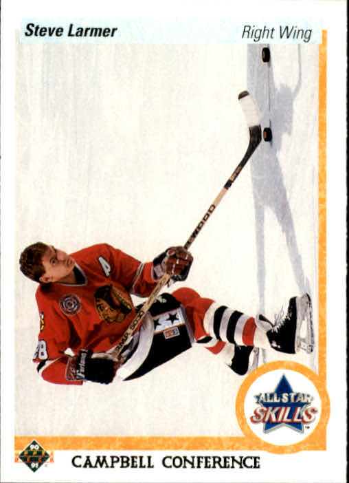 1990-91 Upper Deck #499 Steve Larmer AS