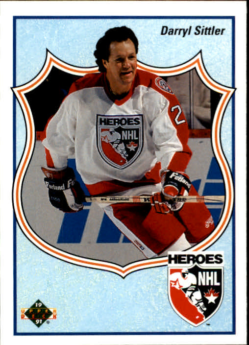 1990-91 Upper Deck #504 Darryl Sittler HERO