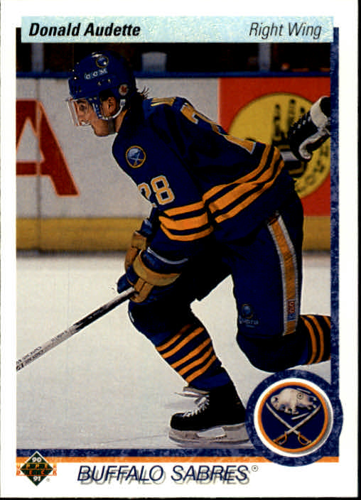 1990-91 Upper Deck #519 Donald Audette RC