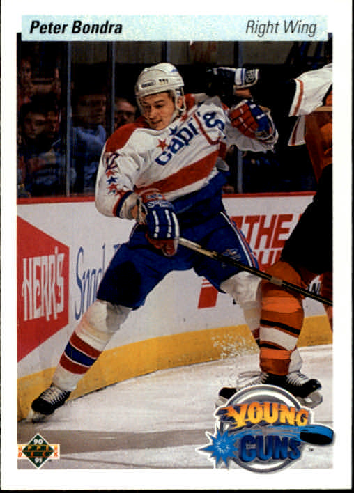 1990-91 Upper Deck #536 Peter Bondra RC