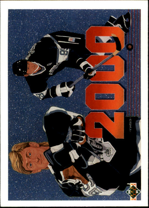 1990-91 Upper Deck #545 Wayne Gretzky/2000th pt