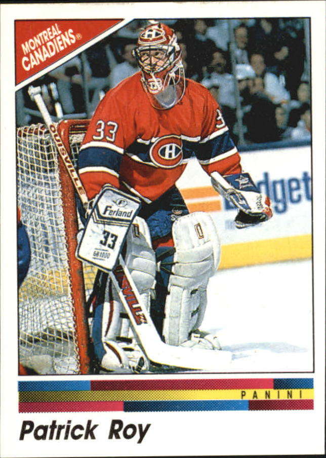 1990-91 Panini Stickers #51 Patrick Roy