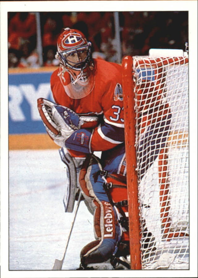 1990-91 Panini Stickers #323 Patrick Roy