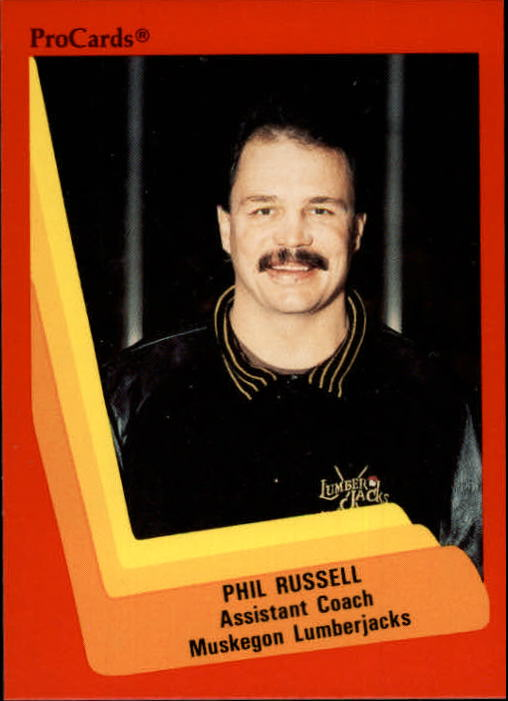 1990-91 ProCards AHL/IHL #391 Phil Russell ACO