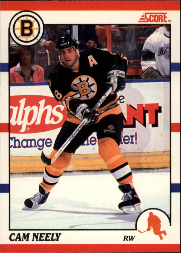 1990-91 Score Canadian #4 Cam Neely
