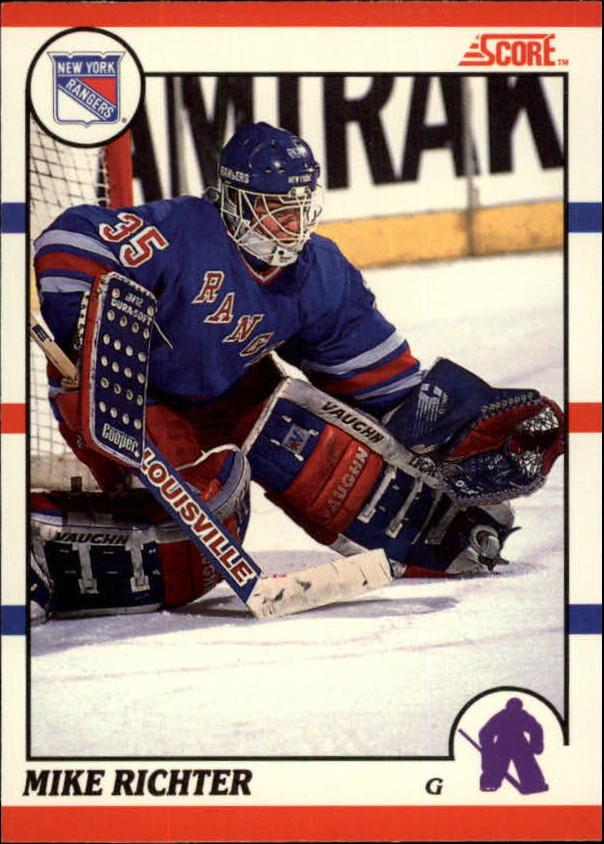 1990-91 Score Canadian #74 Mike Richter RC