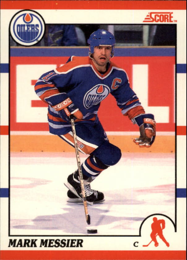 1990-91 Score Canadian #100 Mark Messier