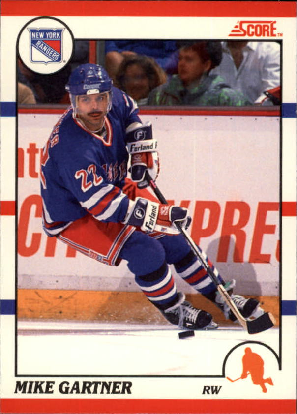 1990-91 Score Canadian #130 Mike Gartner