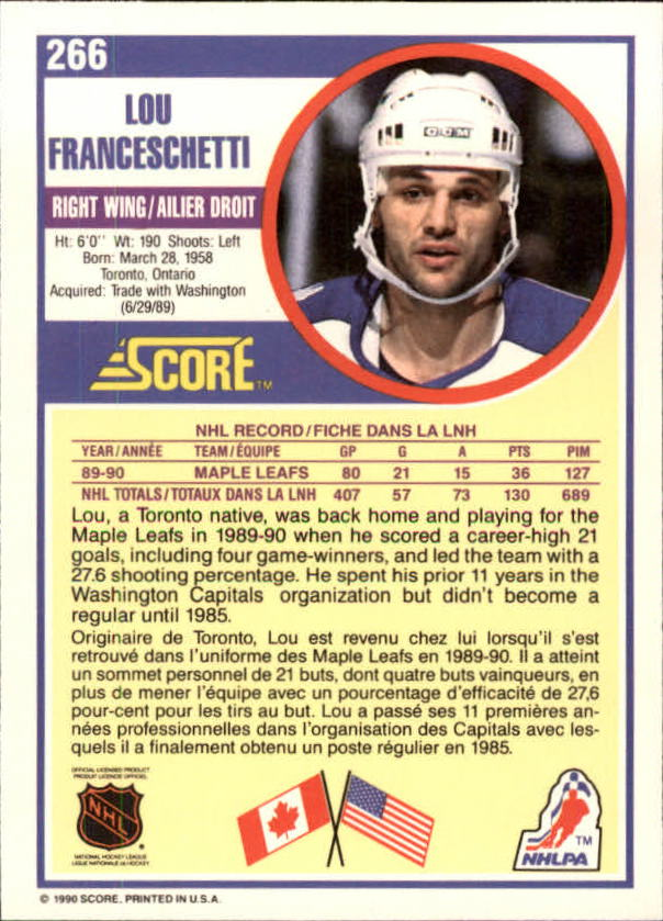 1990-91-Score-Canadian-Hockey-Cards-263-440-Pick-From-List miniature 9