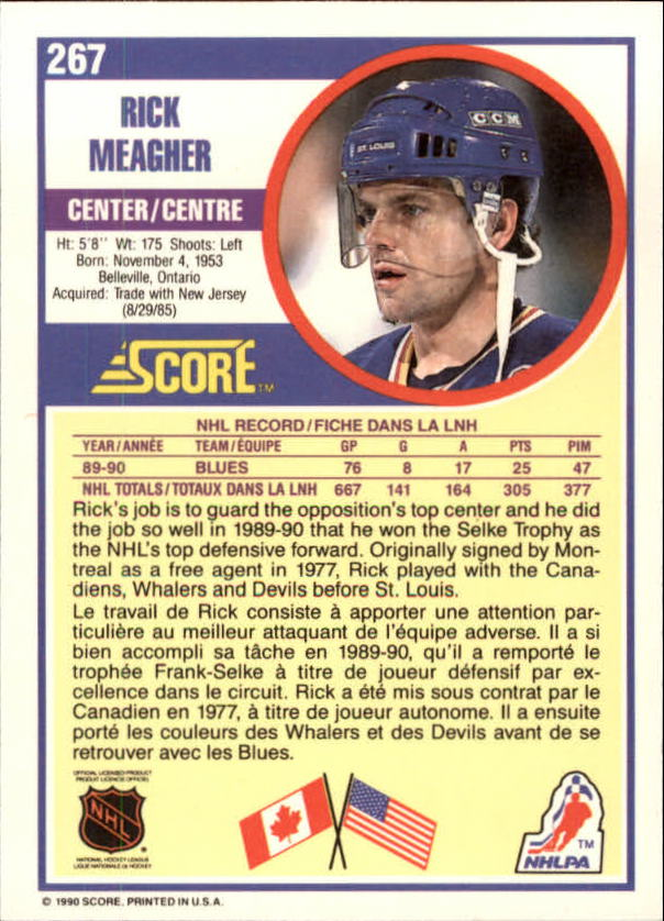 1990-91-Score-Canadian-Hockey-Cards-263-440-Pick-From-List miniature 11