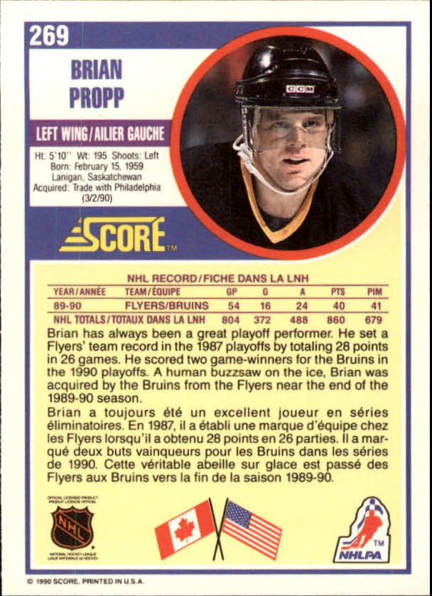 1990-91-Score-Canadian-Hockey-Cards-263-440-Pick-From-List miniature 15