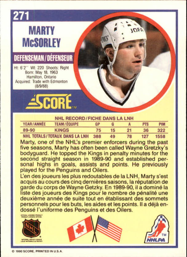 1990-91-Score-Canadian-Hockey-Cards-263-440-Pick-From-List miniature 19