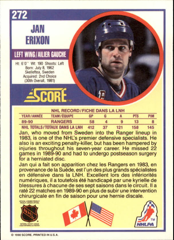 1990-91-Score-Canadian-Hockey-Cards-263-440-Pick-From-List miniature 21